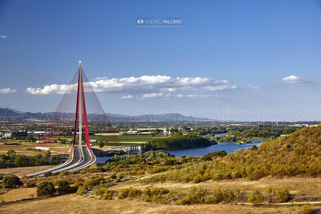 Puente Castilla la Mancha, río Tajo