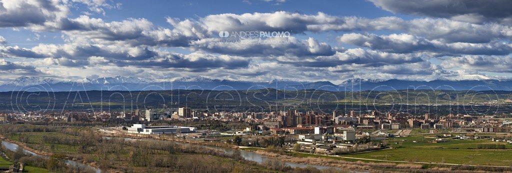 Gredos desde Talavera