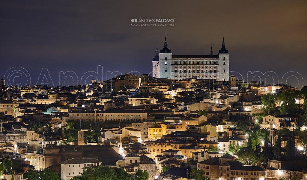 Toledo y el Alcázar Nocturno
