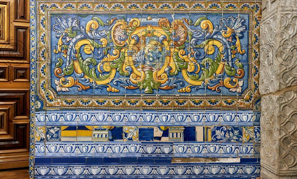 Cerámica antigua de Talavera de la Reina.